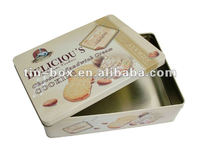 Chocolate packaging box food use and metal material tin box