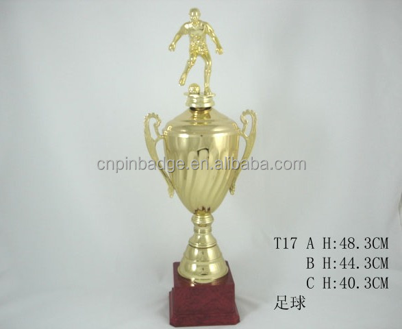 high quality sports trophy soccer trophy cup