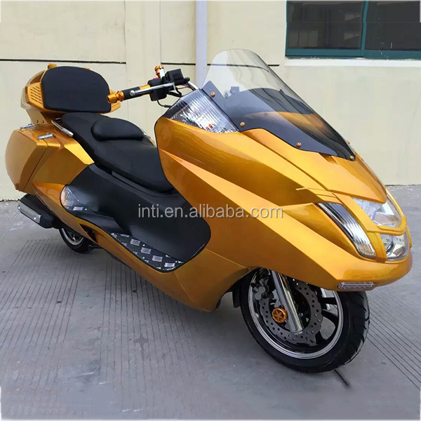 Chinese big 125cc 150cc eec automatic cruiser gas scooter pedal motorbike motorcycle