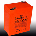 Hot selling 6V7AH rechargeable AGM VRLA Lead acid battery made in China