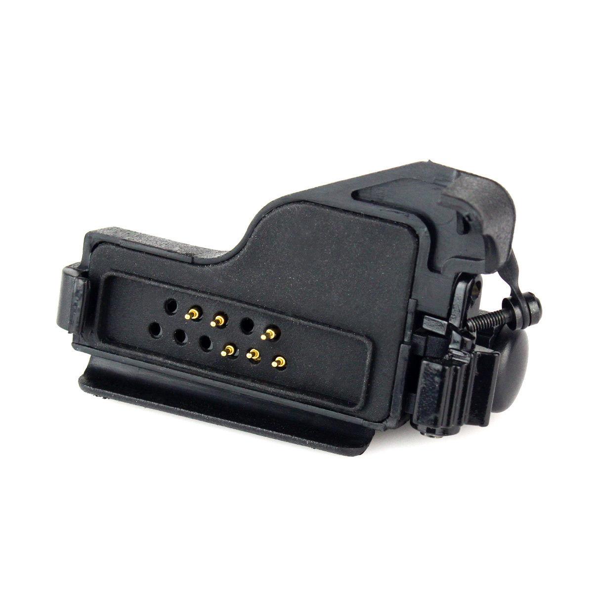 Adaptateur Audio pour Motorola HT1000/MTS2000/XTS5000 GP900 CLS1110 à 2 broches 3.5mm/2.5mm GP300 GP88S Radio Portative - ANKUX Tech Co., Ltd