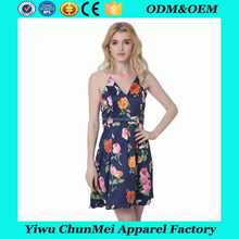 2016 women clothing printing latest dress designs photos new model casual dresses