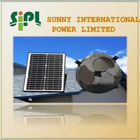 Solar exchange fresh air industrial vent kits 24 Hours Air Exhaust Use Wall Ventilating fans solar cooling ventilation fan