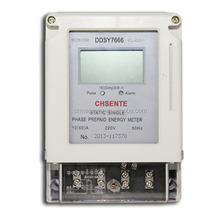 DDSY7666 single phase electric smart IC card prepayment digital meter prepaid electricity meter