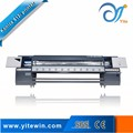 4 color digital flex banner large format printing machine with Konica 512i head price