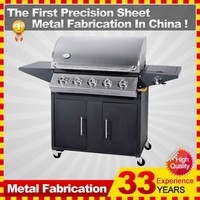 Industrial Outdoor Kitchen Gas Bbq Grill