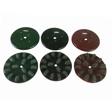 China Flexible Stone Diamond 150mm Resin Polishing Wheel