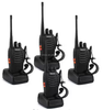 Cheap small portable Retevis H-777 UHF 5W 16CH radio Walkie Talkie (4 pack)