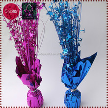 Foil table wedding centerpiece decoration asfoil balloon weight