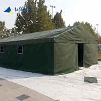 Zhejiang Waterproof 30 persons canvas military refugee tent for sale