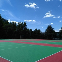 Plastic Outdoor Sports Tile for Volleyball/Basketball/Tennis Court