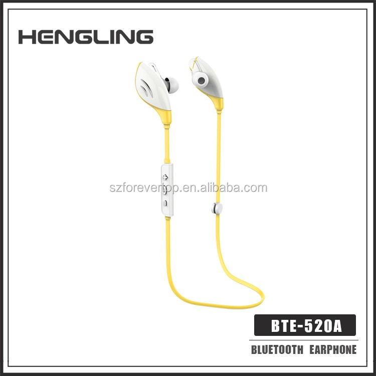 Bluetooth CRS4.0 Wireless Stereo,sports running bluetooth earphone headphone