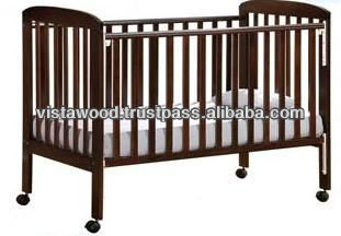 wooden cot, baby bed, wooden crib, open gate cot,baby wooden Cot , wooden baby cot , wooden baby cot Malaysia , design cot