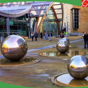 Wholesale Large Luxury & Water Feature Stainless Steel Garden Sphere for Patio