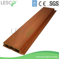 Wood plastic composite waterproof and heat insulated exterior wall cladding