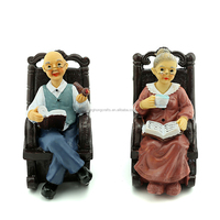 Most popular of European style creative crafts of Old couples personalized ornaments wholesale / furnishing articles