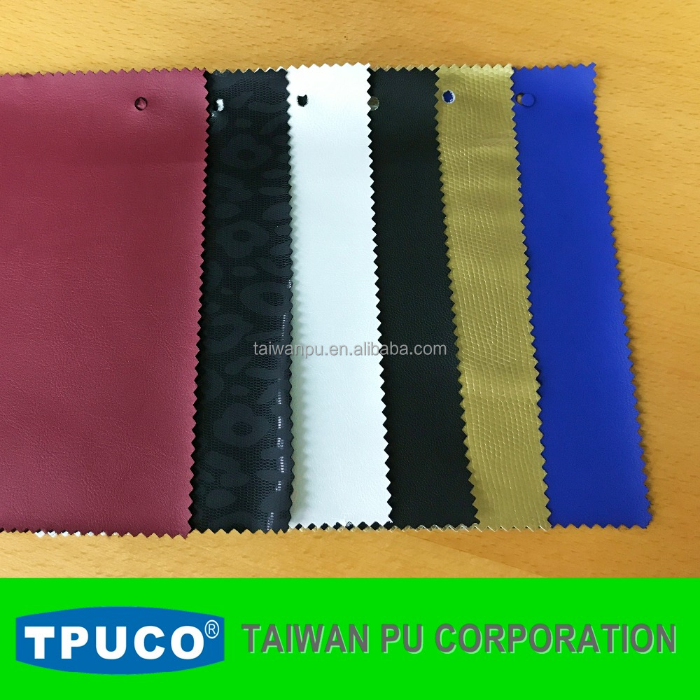 Eco-friendly waterproof clothing PU leather