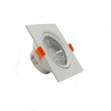 High quality decorative embedded 5w spring clip for led spot downlight