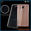 2MM Prism Crystal Clear Transparent Phone Case For Samsung Galaxy C7 TPU Cover Case