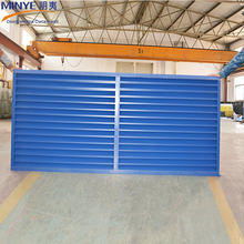 Top Quality Metal Rolling Shutter Aluminum Extrusion Window Louver Design Window and Door