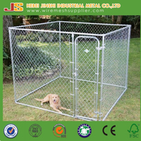 2.3x2.3x1.2m outdoor chain link dog run kennels & dog cages & dog runs pet enclosure with the shed