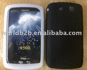 Groove veins Silicon case for BlackBerry Storm 9500 (hot)