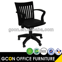 Racing seat office swivel solid wood chair 108 type