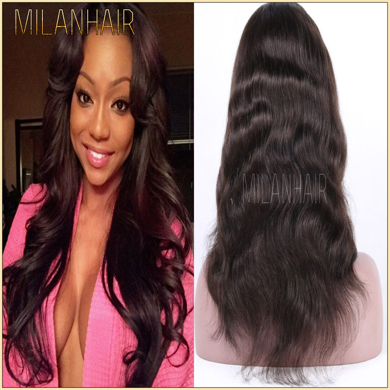 Cheap Human Hair Wigs For Black Women Girl Sexy Image 100% Mink Hair Remy Hair Peruvian Body Wave Full Lace Wig