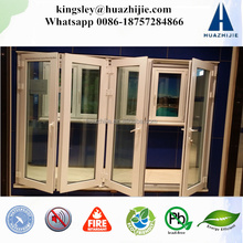 plastic windows doors modern house upvc folding door tempered glass