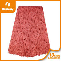 Factory Price Guipure Lace Cotton Chemical Lace Embroidery Fabrics Nigerian Cord Lace In 2015 CP0063