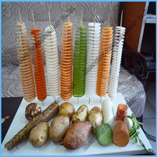 Hot Sell Root Vegetable Commercial Spiral Potato Cutter For Sale