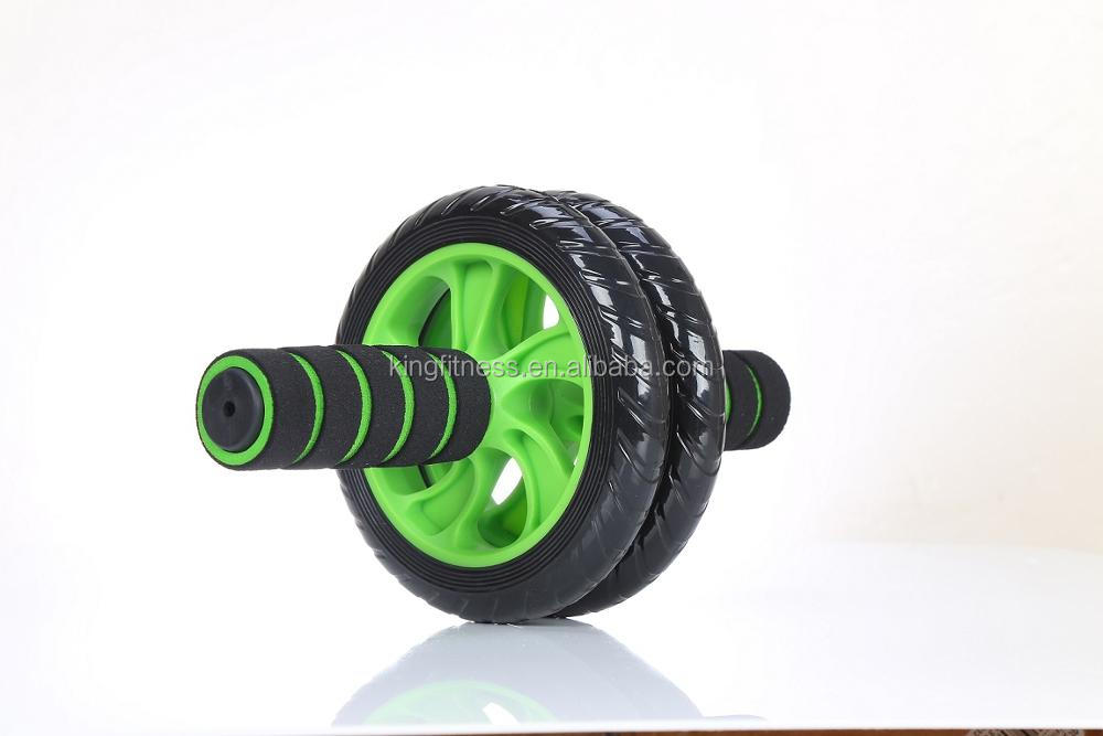 Gym Fitness Double AB Wheel Roller/AB Roller