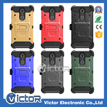 3 in 1 Soldier Holder Phone Case for ZTE GRAND X4 with Kickstand