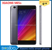 "Original Xiaomi Mi5s Mi 5S 3GB RAM 64GB ROM Mobile Phone Snapdragon 821 Quad Core 5.15""Inch FHD Ultrasonic Fingerprint ID NFC"