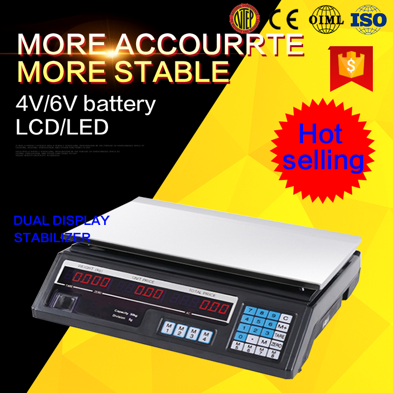 dahongying acs series electronic price computing scale