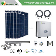 Poly Crystalline silicon solar panel Jiaxing 150w 12v use for 5kw solar off grid system
