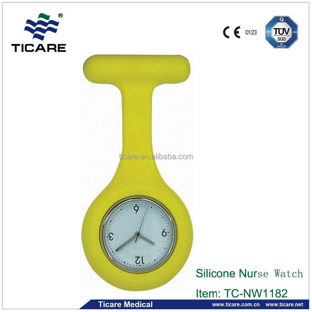 Hot sell High Quality Silicone Nurse Watch