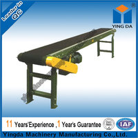 Low Consumption large inclination belt conveyor for antimony ore production line