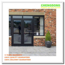 Unequal Double Copper Door Luxury Front Door Design JR071