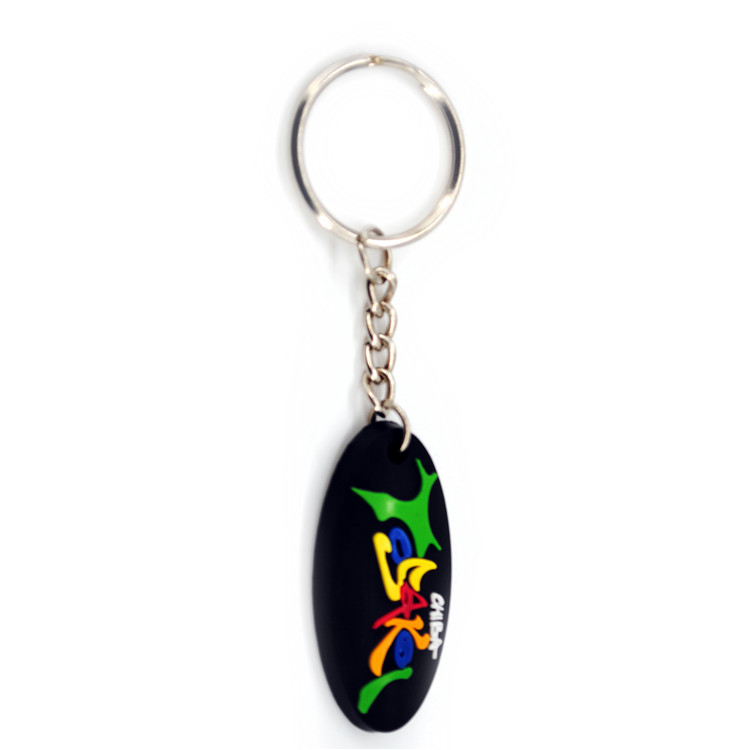 Customized promotion gift soft pvc keychain rubber key chain