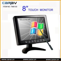 Hot Sale 8'' new panel HB&HD LCD Touch Screen Monitor with 1VGA+2AV(TM8100)