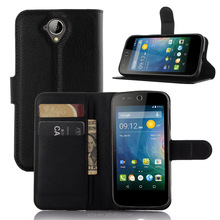 Wholesale black PU Leather Litchi pattern Holster For ACER Liquid Z 630 pouch Case