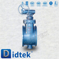 DIDTEK Cast Iron Top Entry Butterfly Valve /High Temperature/LB