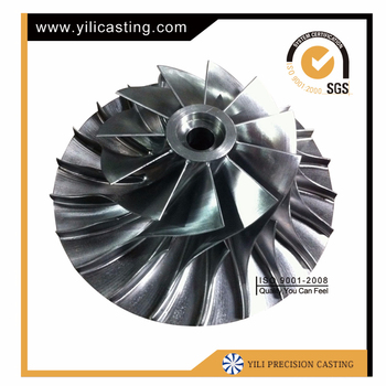 Aluminium alloy castings compressor wheel used for jet engine rc airplane