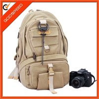 waterproof canvas dslr camera bag digital camera backpack