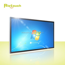 "Riotouch 65""75"" inch touch screen panel LED touch panel with 4k resolution"