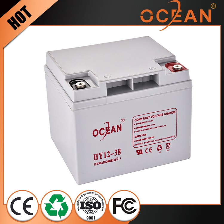 12v 38ah manufacturing cheap Lead Acid Battery