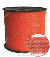 temporary livestock electric fence polytape for horse or cattle