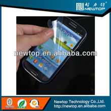 China sexy blue film for Samsung galaxy round privacy screen protector raw material from Japan