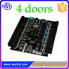 Wiegand 4 Door Access Control Board RFID Access Controller with free SDK